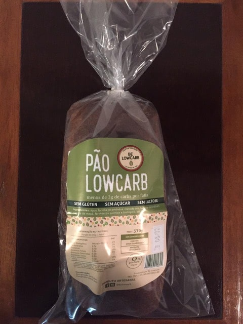 Pão Low Carb Artesanal – BE Lowcarb